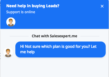 Chat with salesexpert.me